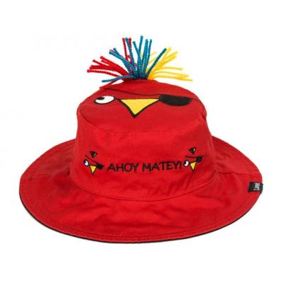 38500 Панама детская двуxсторонняя Пират/Попугай FlapJacks