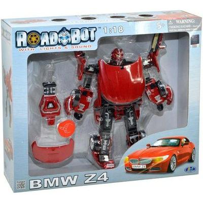 50180 Игрушка Робот-трансформер Машина BMW Z4 Road-Bot 28 см Happy Well