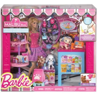 99CL73 Игровой набор Зоомагазин Магазин одежды для питомцев Barbie Mattel
