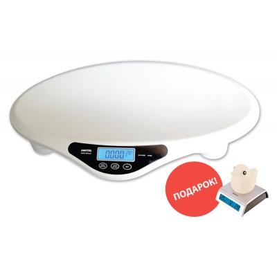 *BH700-CF Детские электронные весы Switel + подарок Термометр-часы с будильником