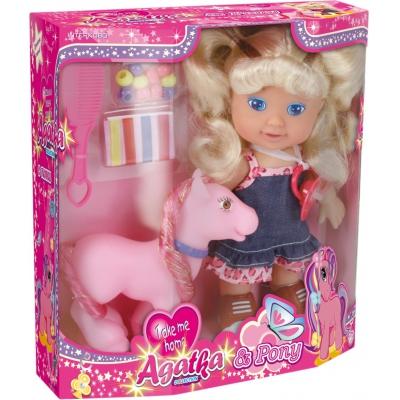 99561 Кукла с пони Agatka