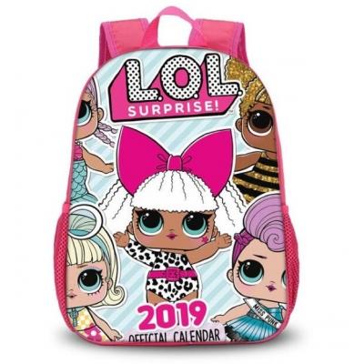 990422 Рюкзак детский LOL розовый Delune