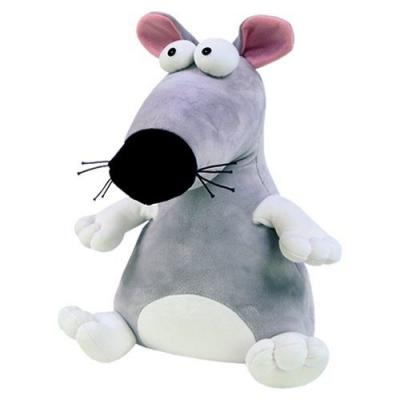 98687 Мягкая игрушка Крыса серая Пучеглаз Rat