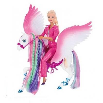 """*B1357 Игровой набор Пегас с куклой """"Сказочное королевство"""" Zhorya"""