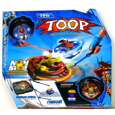 991001 TOOP Starter (Два боевых волчка, два контроллера, арена)