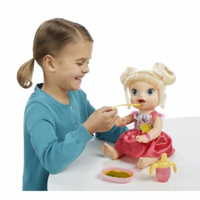 990021 Кукла интерактивная Малышка 35 см Hasbro Baby Alive