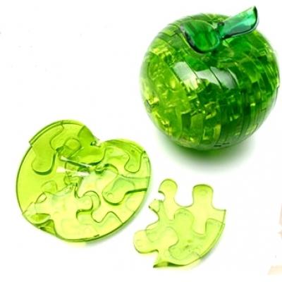 99879 Кристаллический 3D пазл Яблоко с подсветкой