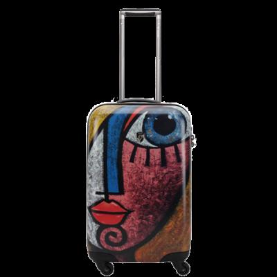 99208-22 Дорожный чемодан на колесиках Heys Ceron Blue Gold 22''