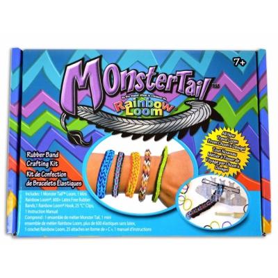 """990211 Набор для плетения браслетов """"Monster Tail"""" с набором резинок Rainbow Loom"""