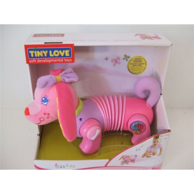 "99576 Интерактивная собачка Фиона ""Догони меня"" Tiny Love"