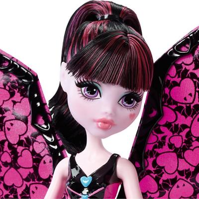 990022 Кукла Дракулаура в трансформирующемся наряде Monster High Mattel