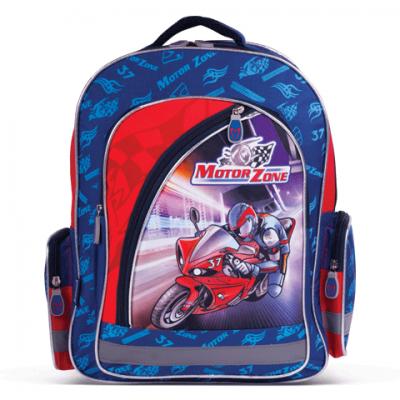 99013 Рюкзак школьный для мальчика Motozone Мотозона Пифагор