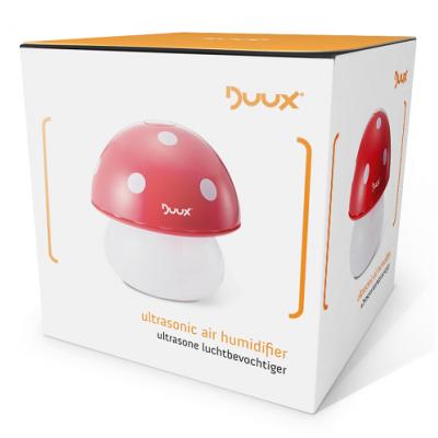 *DUAH02-CF Ультразвуковой увлажнитель воздуха и ночник Mushroom Red Duux