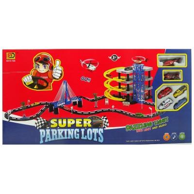 99852 Суперпаркинг - трехъярусная парковка с гоночной трассой