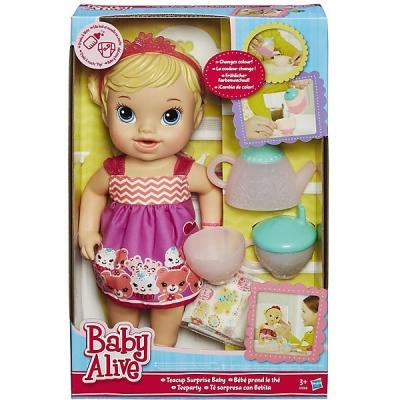 99022 Кукла Гостеприимная малютка 35 см Hasbro Baby Alive