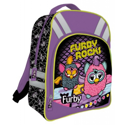 999111 Школьный ортопедический рюкзак Furby