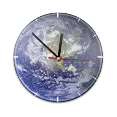 X99014V Настенные часы с текстурой Земля