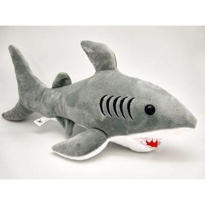 **SW0333 Мягкая игрушка Акула Серая 46 см Абвгдейка