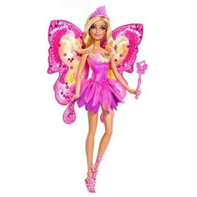 992965 Кукла Фея с волшебной палочкой Барби Розовая Barbie Mattel