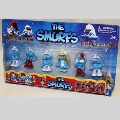 9913-10 Набор игрушек Смурфики