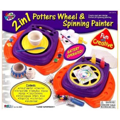 *80862 Гончарный круг и прядильное рисование Galey Toys