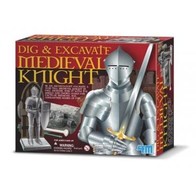 995934 Раскопки средневековый рыцарь 4M