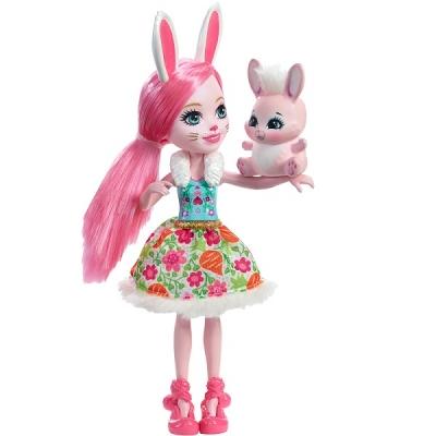 DVH88 Кукла Бри Кроля 15 см Enchantimals Mattel