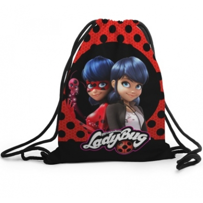 39702 Рюкзак-мешок 3D «Леди баг и супер Кот»
