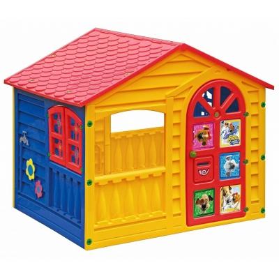 99362 Детский игровой домик Белка-Стрелка Palplay Marian Plast