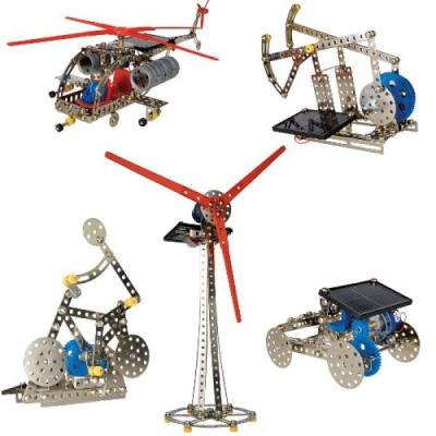 00073 Конструктор металлический 5 вариантов сборки EITECH