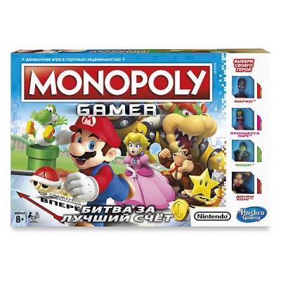 9900471 Настольная игры Монополия геймер Марио Hasbro Games