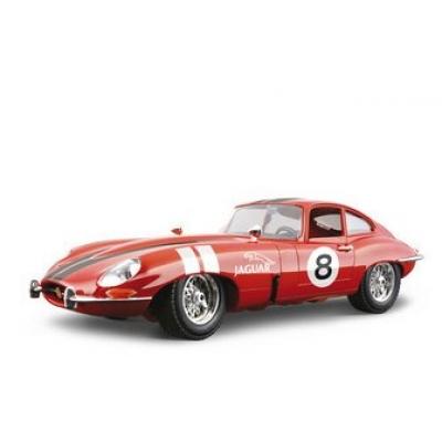 """1/18 Модель машины Jaguar """"E"""" Coupe (1961) Bburago"""