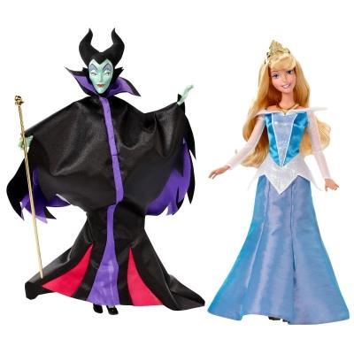 99231 Набор кукол Малефисента и Спящая красавица Disney Princess Mattel