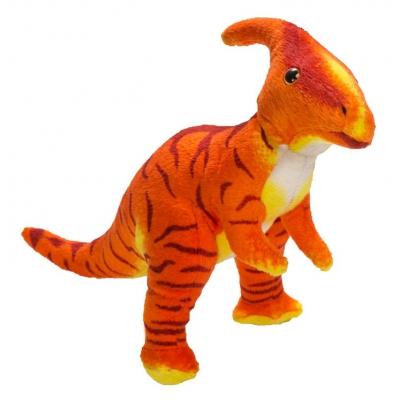 0061 Мягкая игрушка динозавр Паразауралоф 25 см Абвгдейка