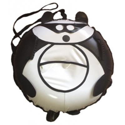 991180 Санки-ватрушка надувные Панда 100 см с камерой Тюбинг Globus