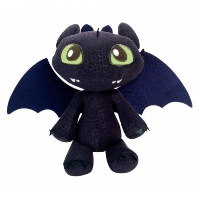 990665 Мягкая игрушка Большой дракон Беззубик (Ночная фурия) Dragons