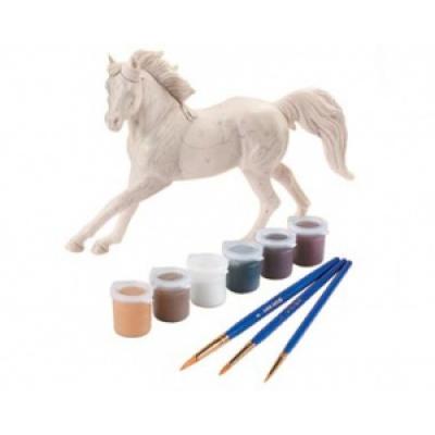 99057 Набор для творчества Раскрась лошадь Пинто по шаблонам Breyer