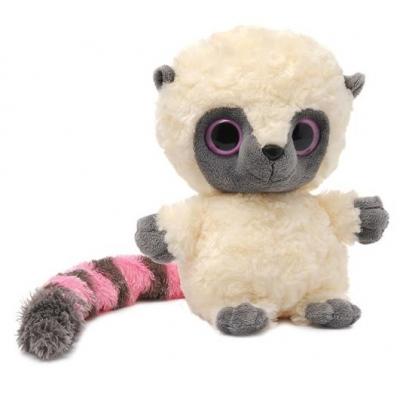 99216 Мягкая игрушка Лемур Юху розовый 20 см Aurora