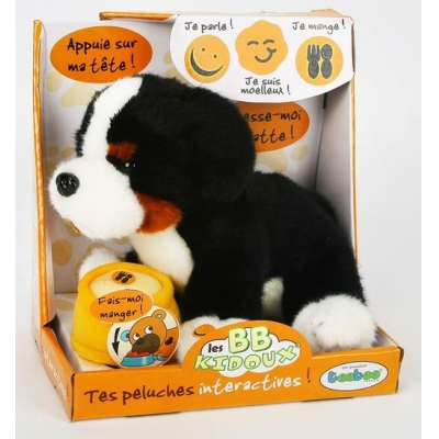 991220R-BKD Собака черная Тeeboo