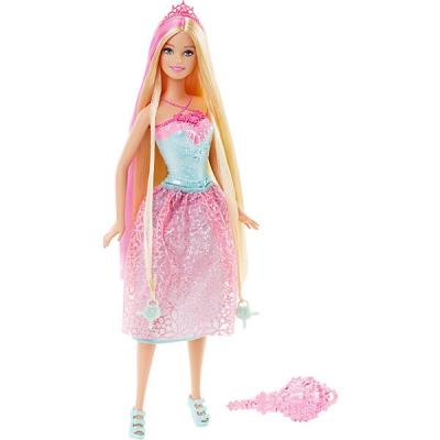 99017 Кукла Барби Принцесса с длинными волосами Блондинка Barbie Mattel