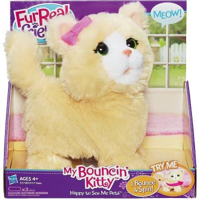 990057 Интерактивная игрушка Котенок Озорные зверята FurReal Friends Hasbro