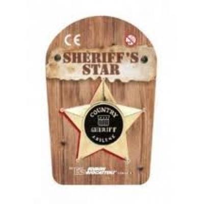 99101/22 Звезда шерифа нагрудная Edison