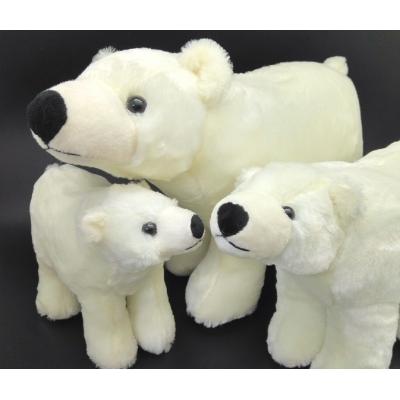 """*BP006-6 Набор мягких игрушек """"Семья Белых медведей"""" Абвгдейка"""