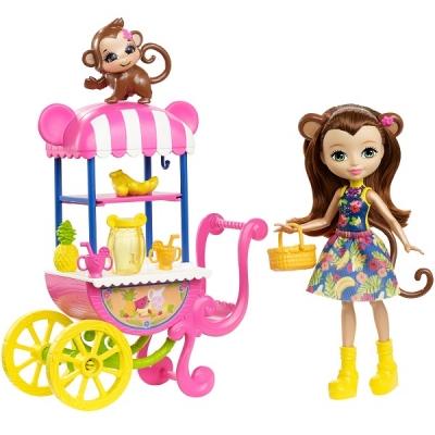 """FCG93 Игровой набор """"Фруктовая корзинка"""" Мэрит Enchantimals Mattel"""