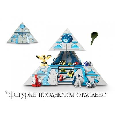 "9918308 ✦ Игрушка Пирамида Atomicron с 2 катапультами ""Штаб-квартира Микрон"" Giochi Preziosi"