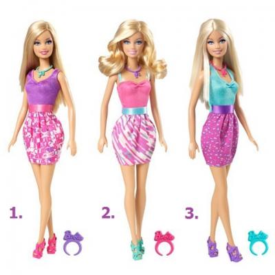 997584 Кукла Барби с колечком в ассортименте Barbie Mattel