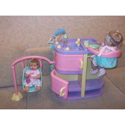 15631 Бэби-центр с аксессуарами для куклы