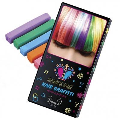 99012 Набор цветных мелков для волос DVG MCI HairChalk