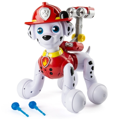 98103 Интерактивный щенок Маршал Paw Patrol Marshall Spin Master Zoomer