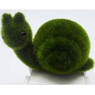 """6557 ЭКО-игрушка из травы """"Улитка"""" 15х10 см"""